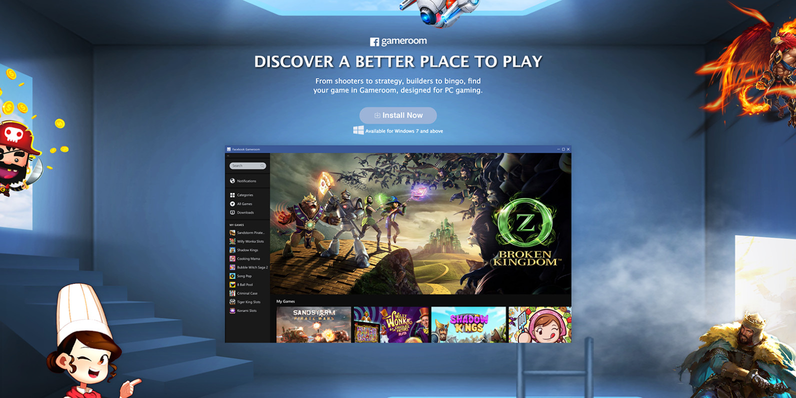 Best ideas about Facebook Game Room Review . Save or Pin Has Announced Steam Rival Gameroom Now.