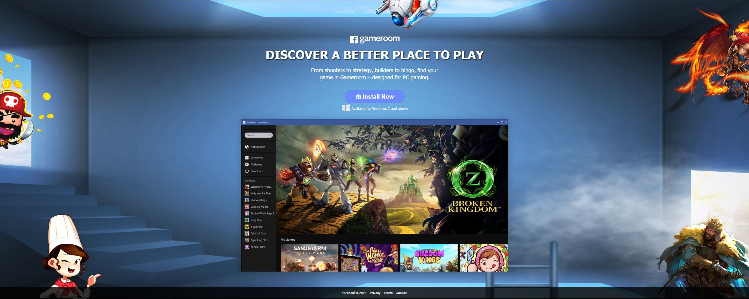 Best ideas about Facebook Game Room . Save or Pin Gameroom – The Next Steam • World Report Now Now.