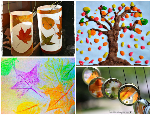 Best ideas about Fall Art Project For Kids . Save or Pin Fall Leaf Crafts for Kids to Make Crafty Morning Now.