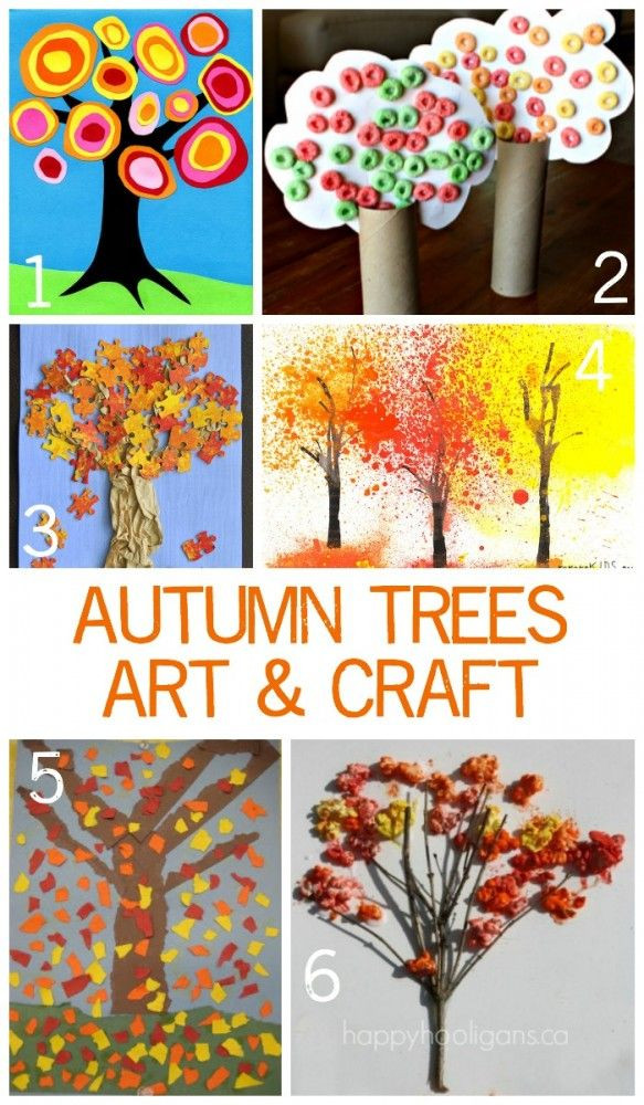 Best ideas about Fall Art Project For Kids . Save or Pin Autumn Art and Craft Project ideas for Children of all Now.