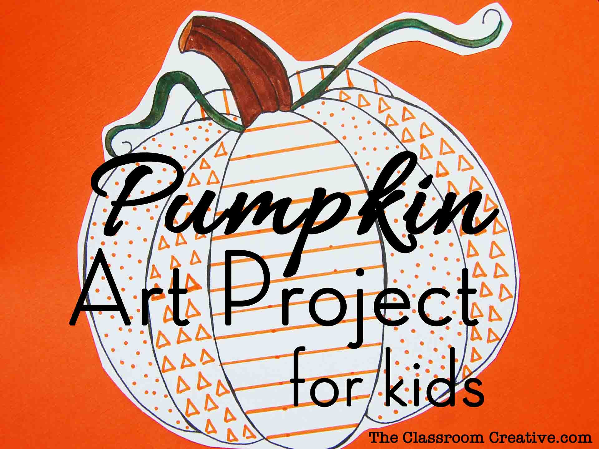Best ideas about Fall Art Project For Kids . Save or Pin Pumpkin Crafts for Kids Now.