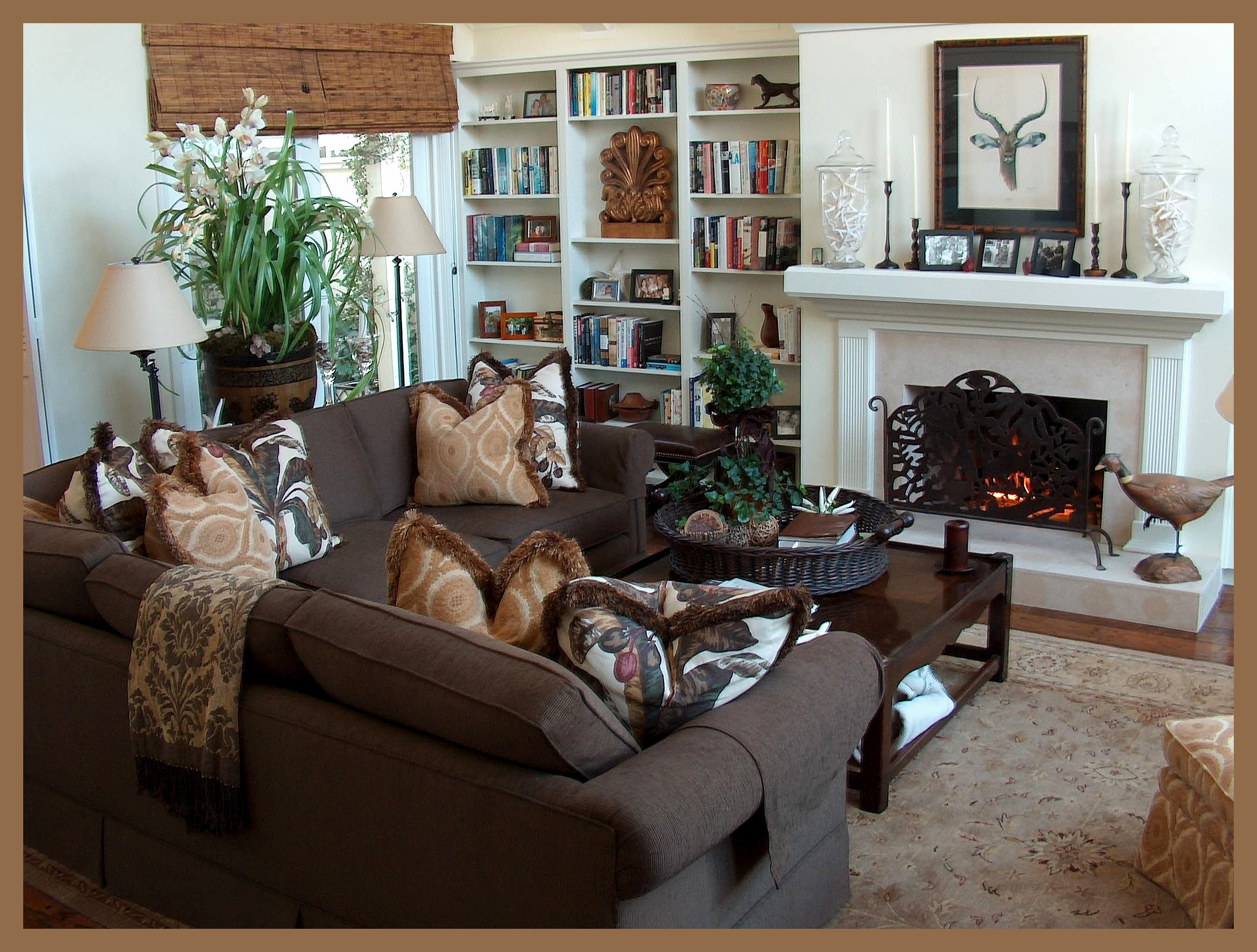Best ideas about Family Room Designs . Save or Pin Interior Design Section Now.