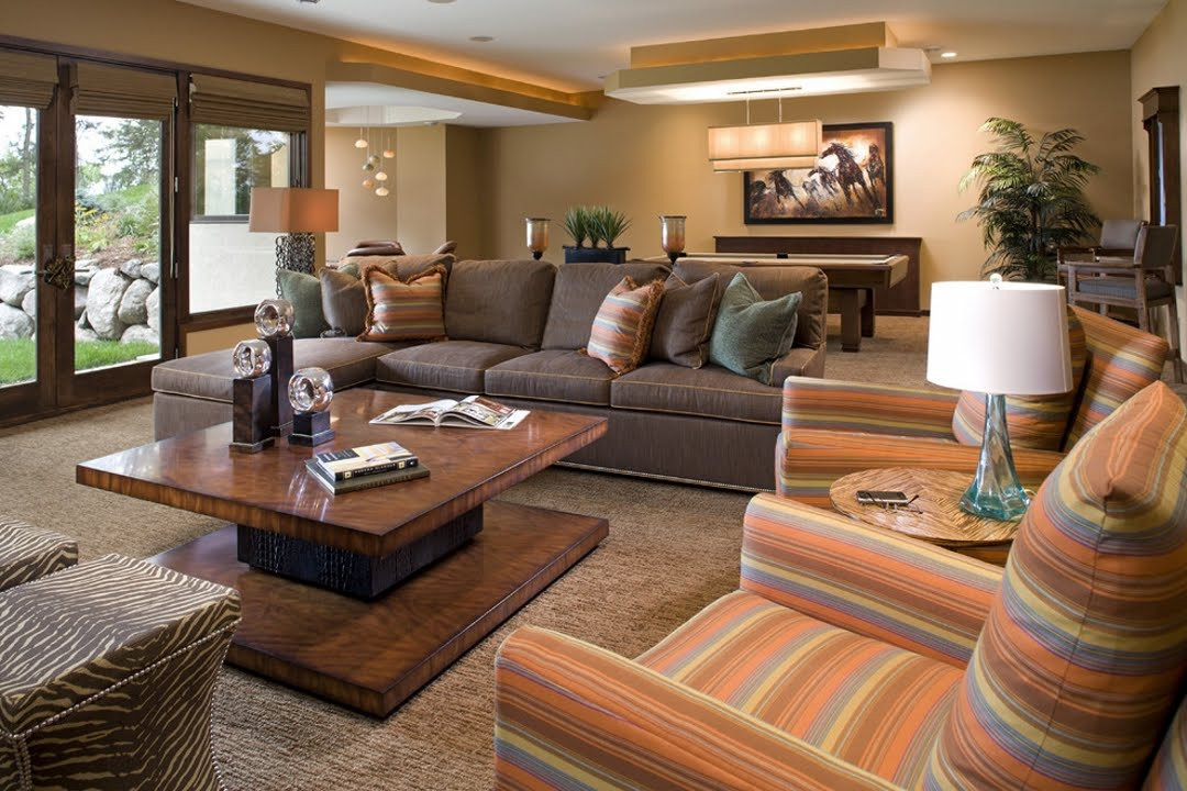 Best ideas about Family Room Designs . Save or Pin Casual and fortable Family Room Design Ideas Now.