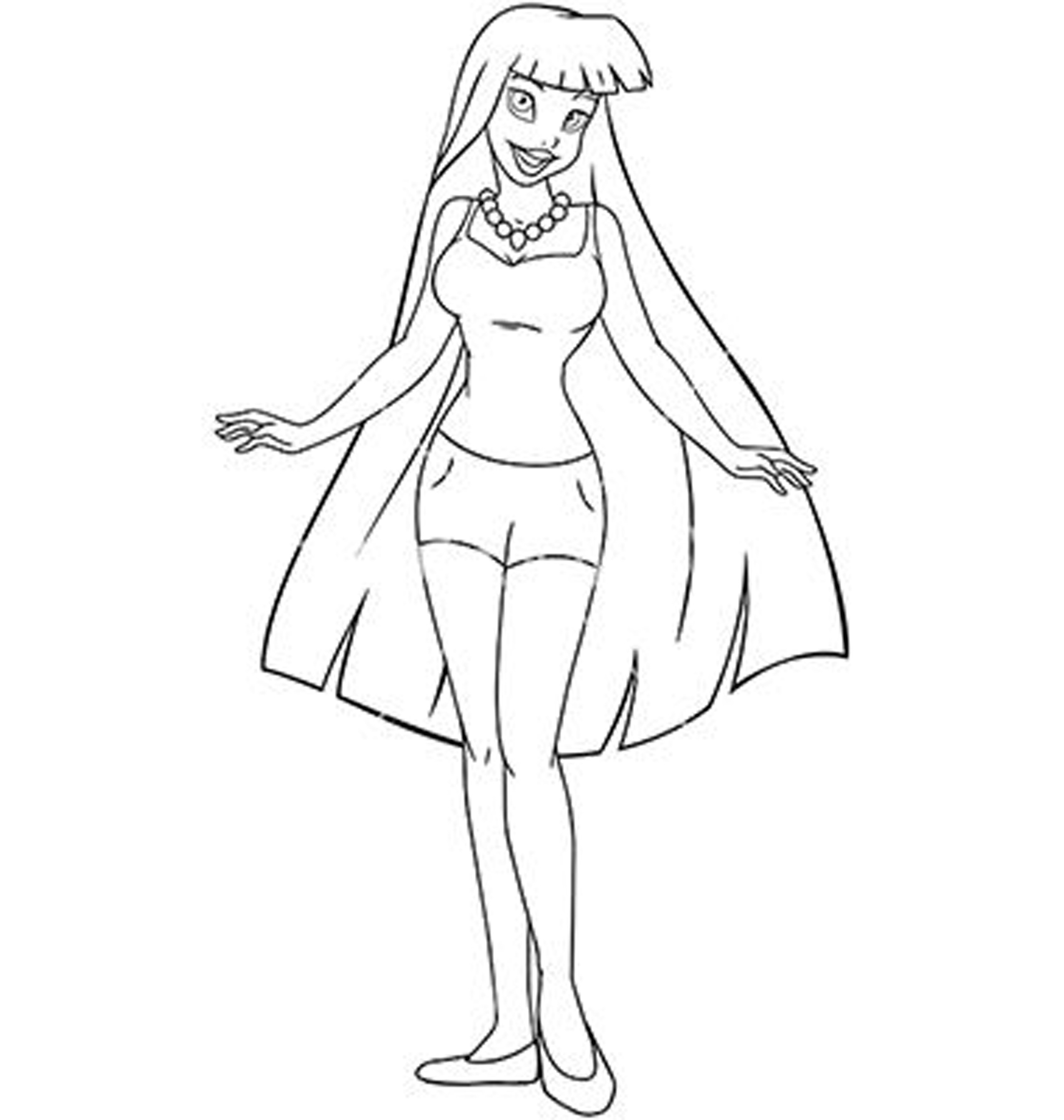 Best ideas about Fashion Coloring Pages For Girls . Save or Pin Fashion Coloring Pages coloringsuite Now.