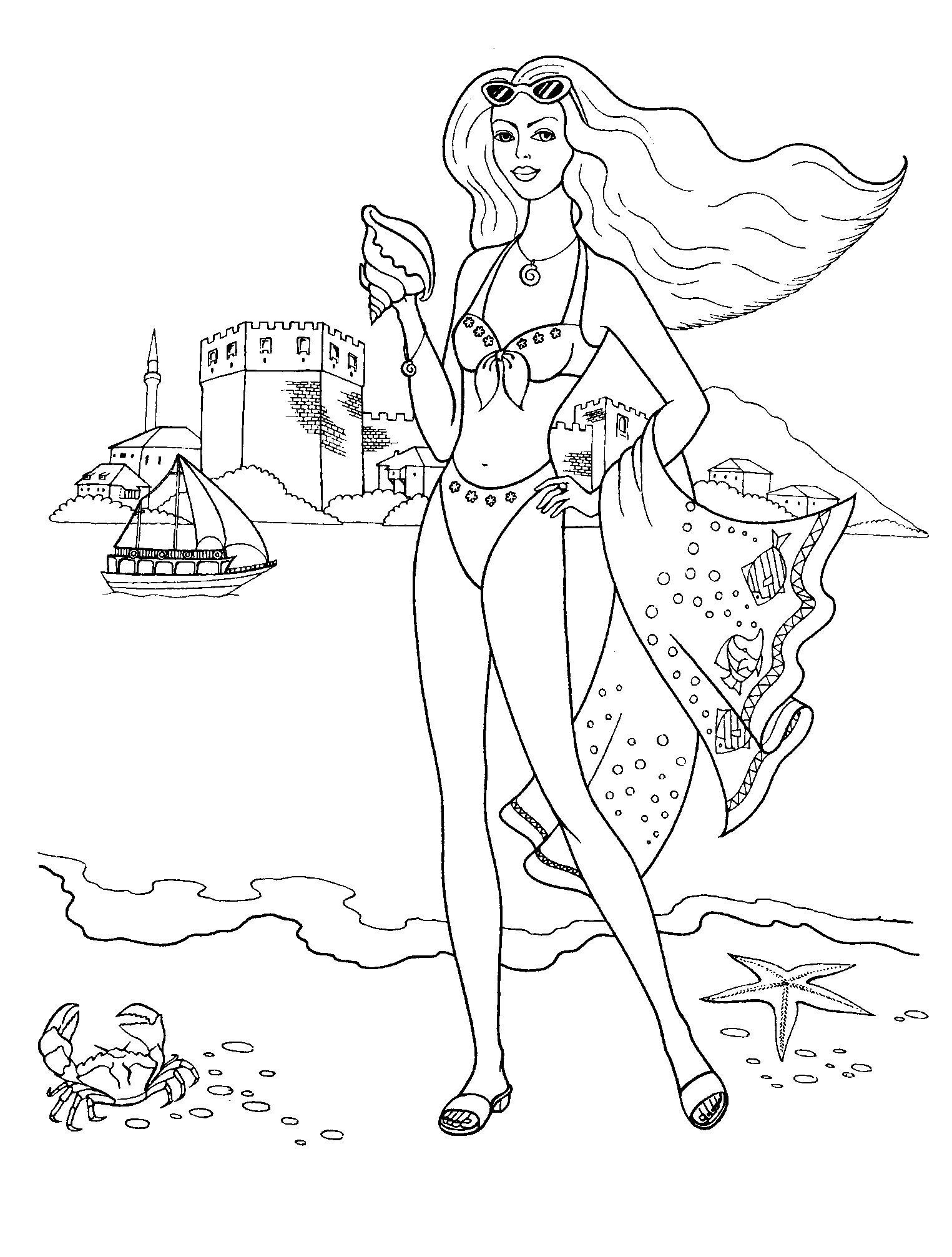 Best ideas about Fashion Coloring Pages For Girls . Save or Pin Fashion Coloring Pages for Girls Printable Collection Now.