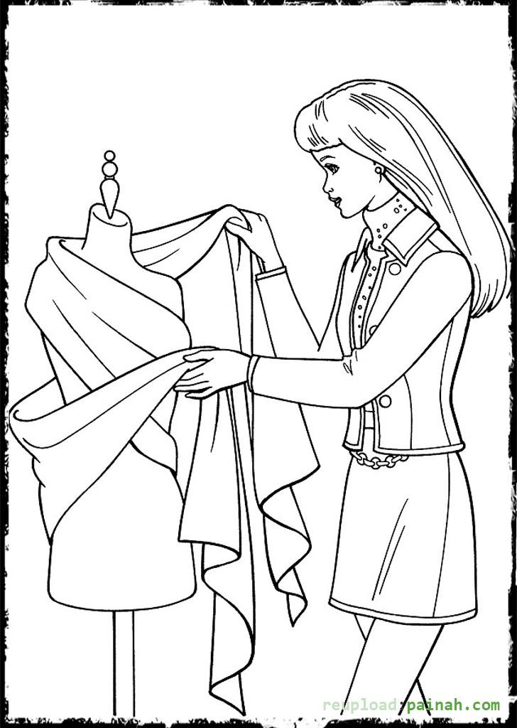 Best ideas about Fashion Coloring Pages For Girls . Save or Pin Fashion Coloring Pages for Girls Printable Free Now.