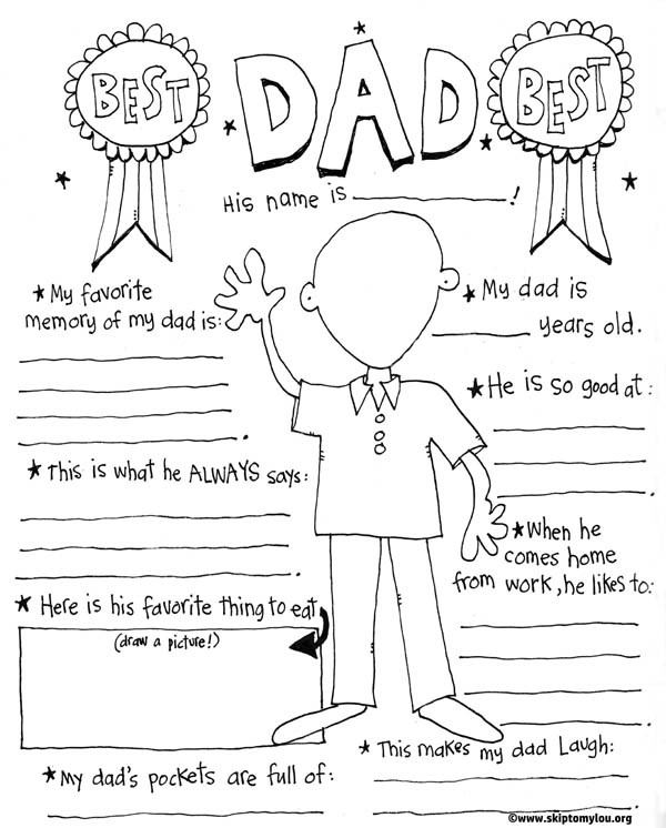 Best ideas about Father'S Day Coupon Book Printable Coloring Pages . Save or Pin The BEST Father s Day Coloring Pages Now.