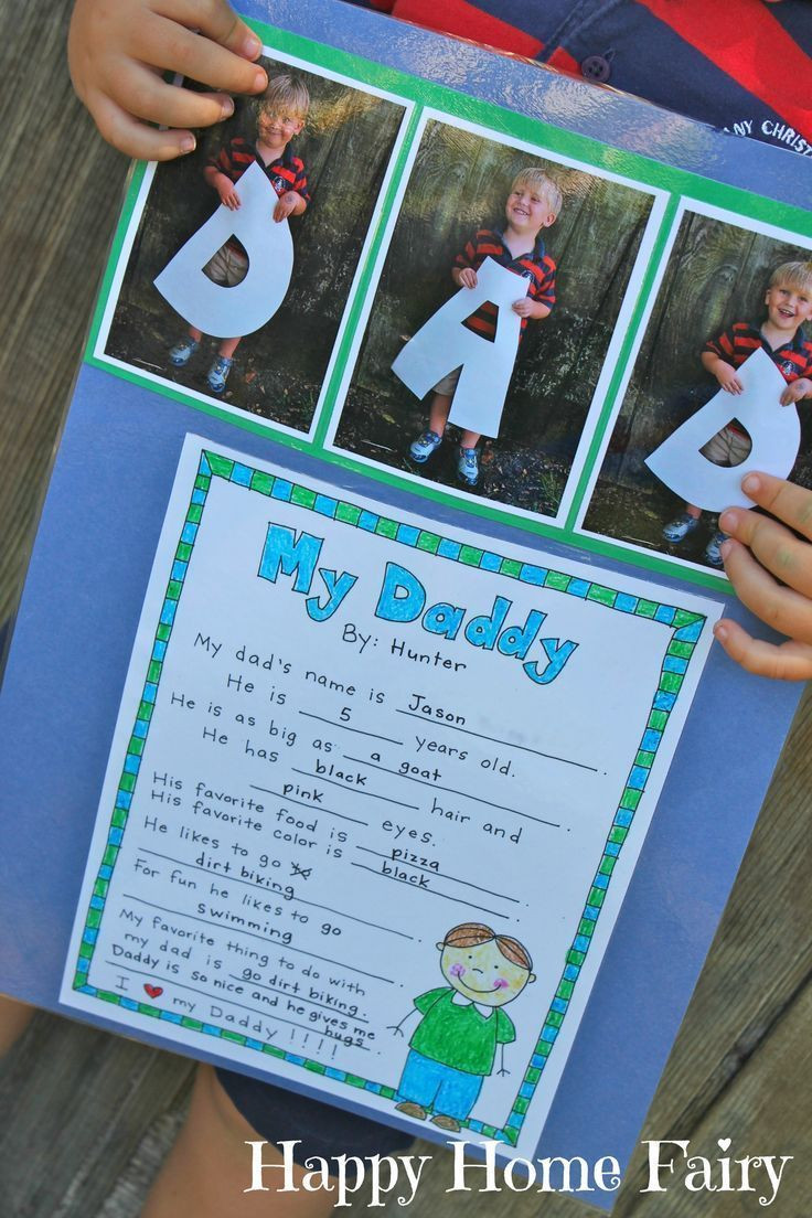 Best ideas about Father'S Day Craft Ideas For Preschoolers . Save or Pin A Father s Day Project FREE Printable Now.