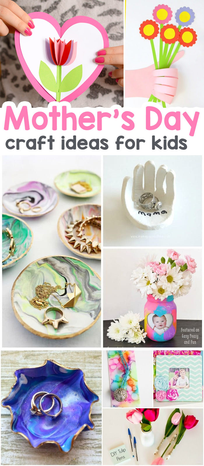 Best ideas about Father'S Day Craft Ideas For Preschoolers . Save or Pin 25 Mothers Day Crafts for Kids Most Wonderful Cards Now.