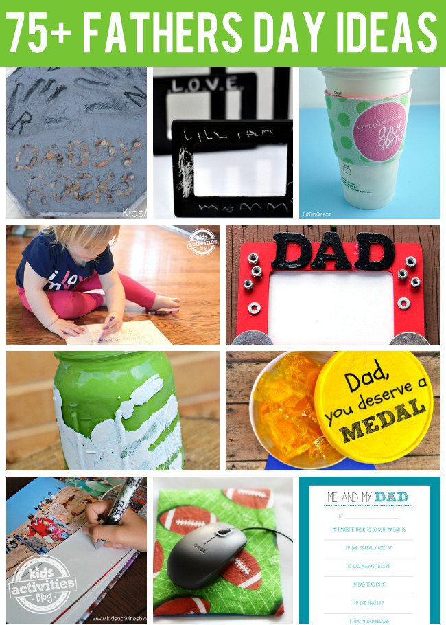 Best ideas about Father'S Day Craft Ideas For Preschoolers . Save or Pin 75 Amazing Fathers Day Ideas Now.