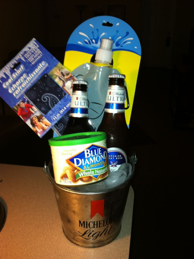 Best ideas about Father'S Day Gift Basket Ideas . Save or Pin Beer nuts t basket idea Alabama Roll Tide Father s Day Now.