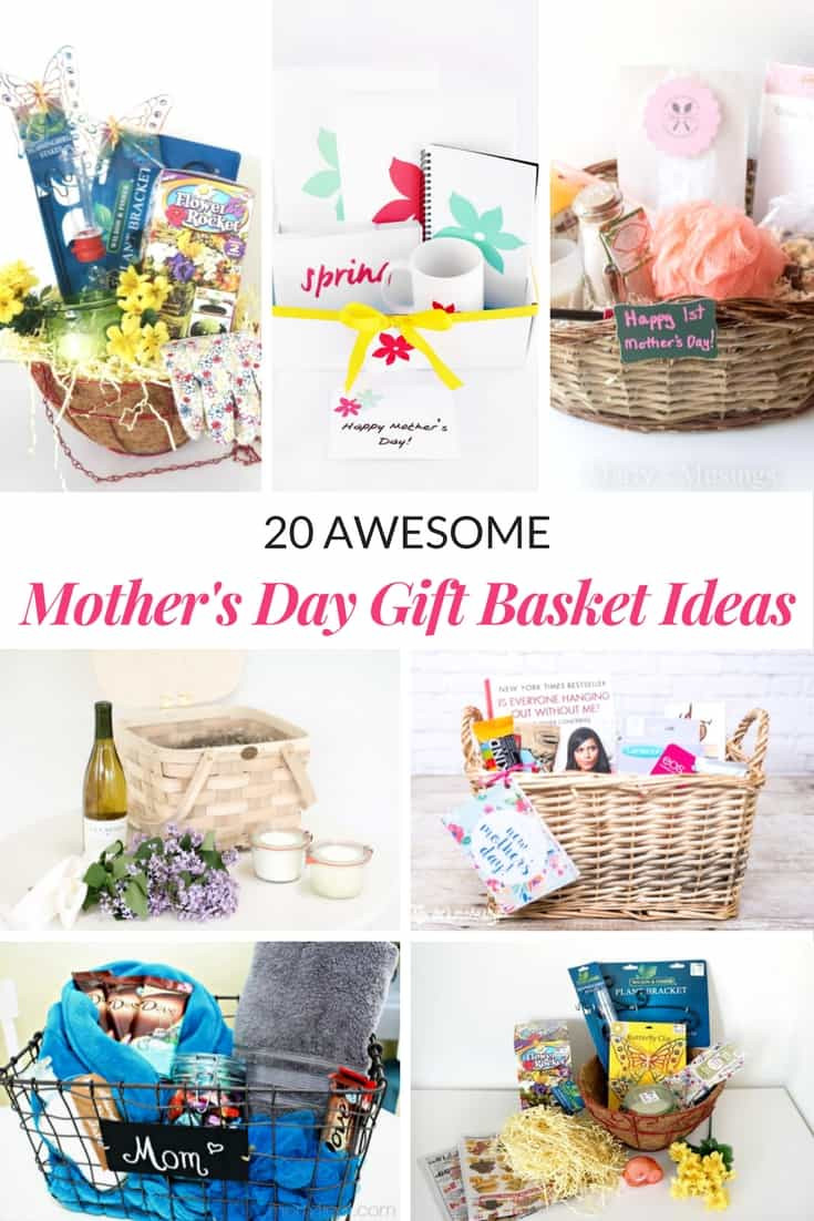 Best ideas about Father'S Day Gift Basket Ideas . Save or Pin AWESOME MOTHER S DAY GIFT BASKET IDEAS Mommy Moment Now.