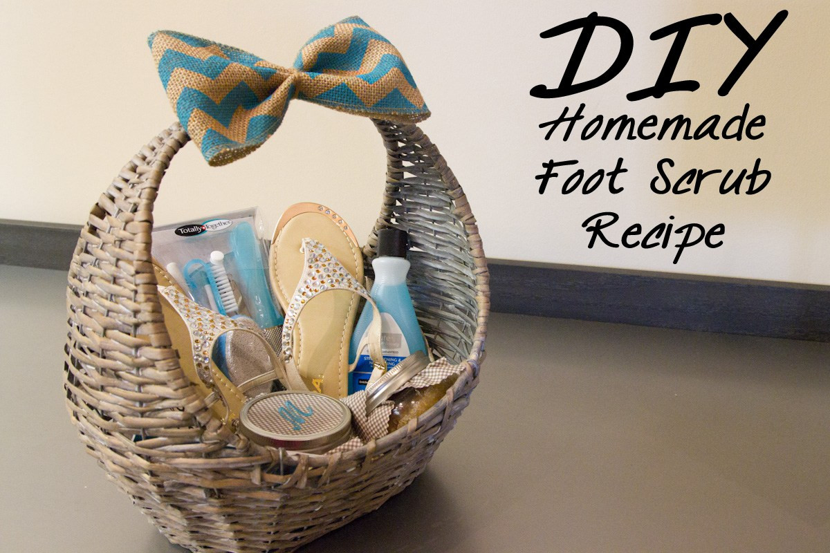 Best ideas about Father'S Day Gift Basket Ideas . Save or Pin DIY Homemade Foot Scrub Recipe Now.