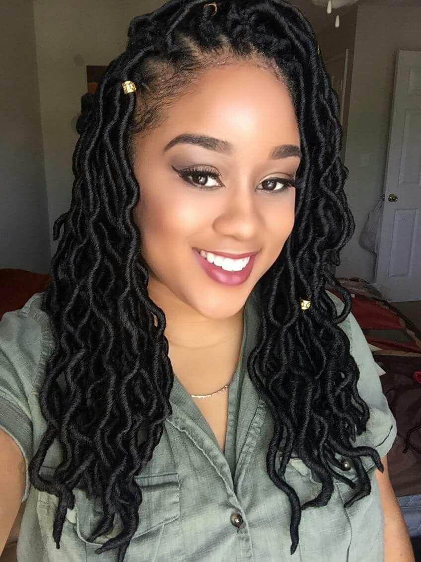 Best ideas about Faux Locs Hairstyles Crochet . Save or Pin Crochet Goddess Dreadlocks awesome hair Now.