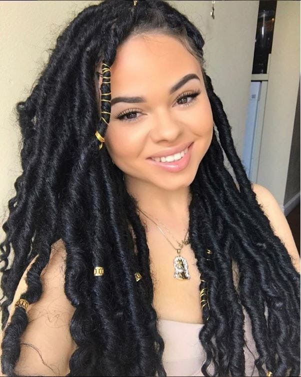Best ideas about Faux Locs Hairstyles Crochet . Save or Pin Faux Locs Hairstyles Crochet HairStyles Now.