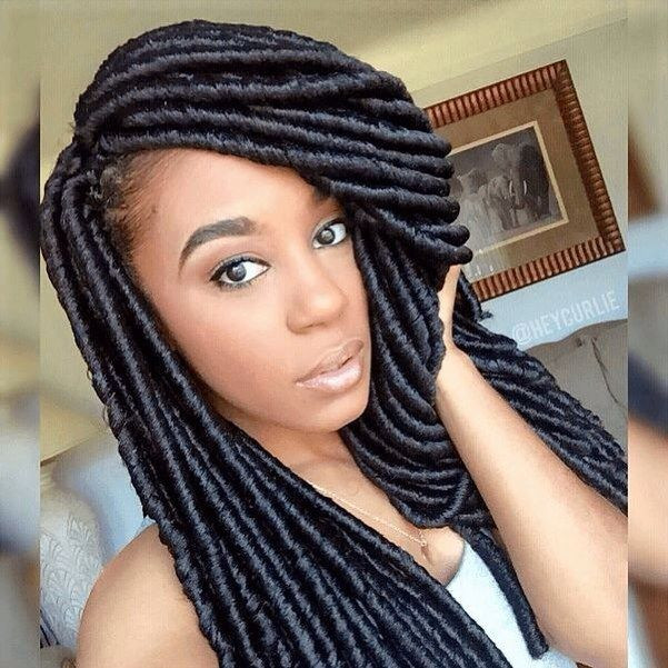Best ideas about Faux Locs Hairstyles Crochet . Save or Pin Cute Crochet Faux Locs IG heycurlie naturalhairmag Now.