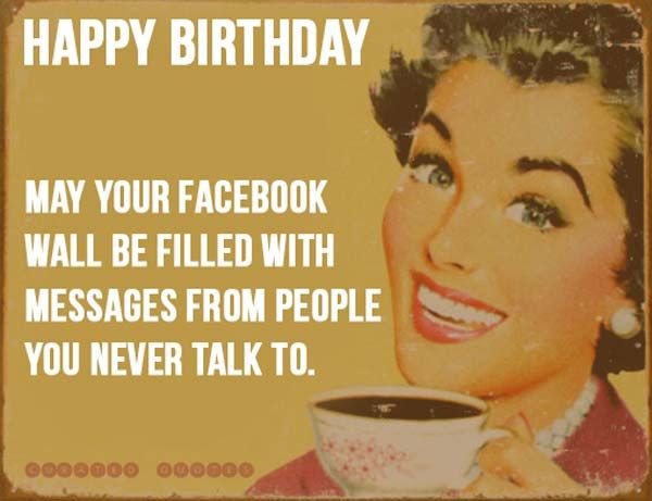 Best ideas about Fb Birthday Wishes . Save or Pin birthday sayings funny Quotes Hunger Now.