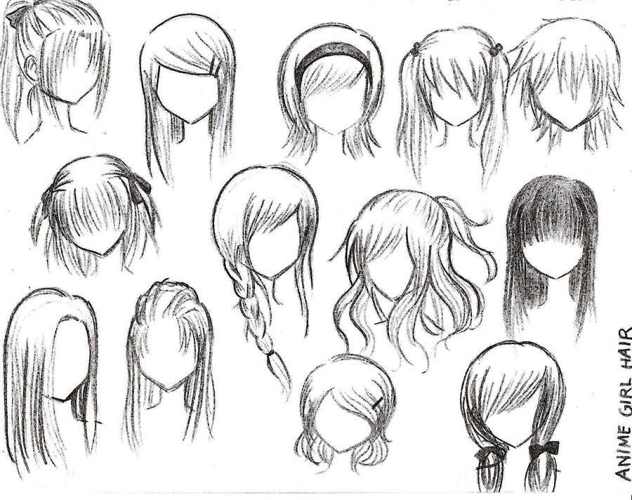Best ideas about Female Anime Hairstyles . Save or Pin How To Draw Female Anime Hairstyles Now.