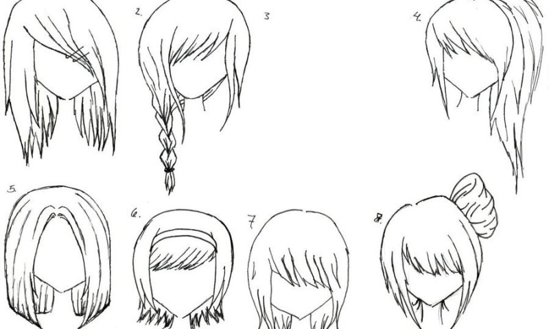 Best ideas about Female Anime Hairstyles . Save or Pin Anime Hairstyles Inkcloth Now.