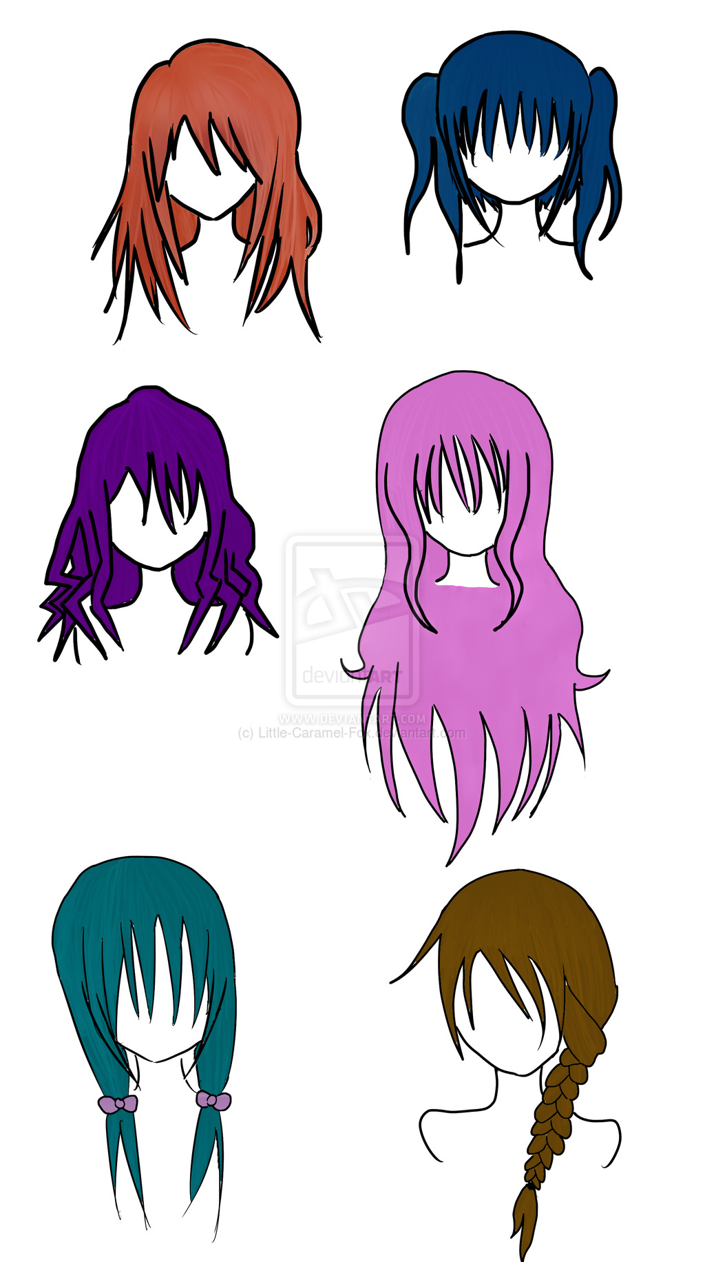 Best ideas about Female Anime Hairstyles . Save or Pin Anime Female Hairstyles by Little Caramel Fox on DeviantArt Now.