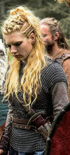 Best ideas about Female Warrior Hairstyles . Save or Pin 25 best ideas about Lagertha hair on Pinterest Now.