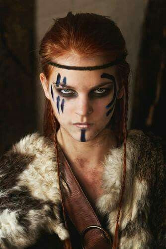 Best ideas about Female Warrior Hairstyles . Save or Pin Celtic Warrior Princess Hairstyle so badass P Now.