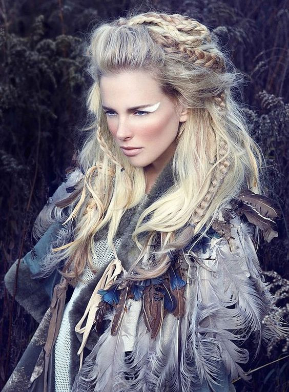 Best ideas about Female Warrior Hairstyles . Save or Pin Fantastic Tribal Hairstyles The HairCut Web Now.