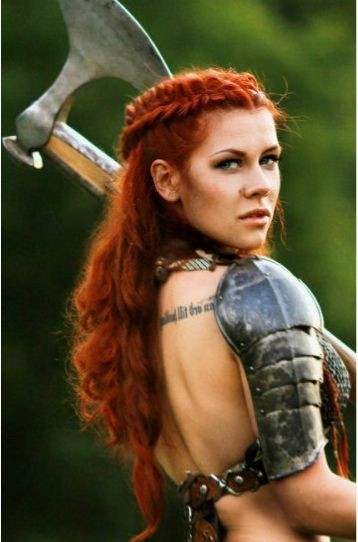 Best ideas about Female Warrior Hairstyles . Save or Pin Bilderesultat for viking woman Now.