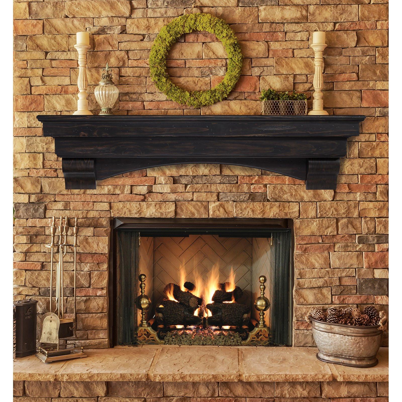 Best ideas about Fireplace Mantel Shelf . Save or Pin Pearl Mantels Celeste Fireplace Mantel Shelf Fireplace Now.