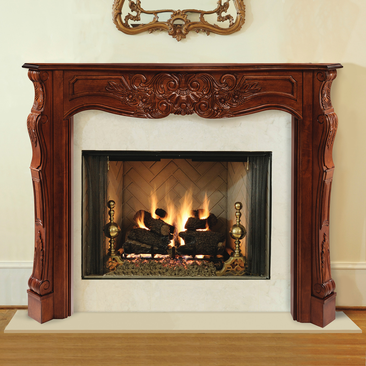 Best ideas about Fireplace Mantel Shelf . Save or Pin Amazon Pearl Mantels 412 60 50 Shenandoah Pine 60 Now.