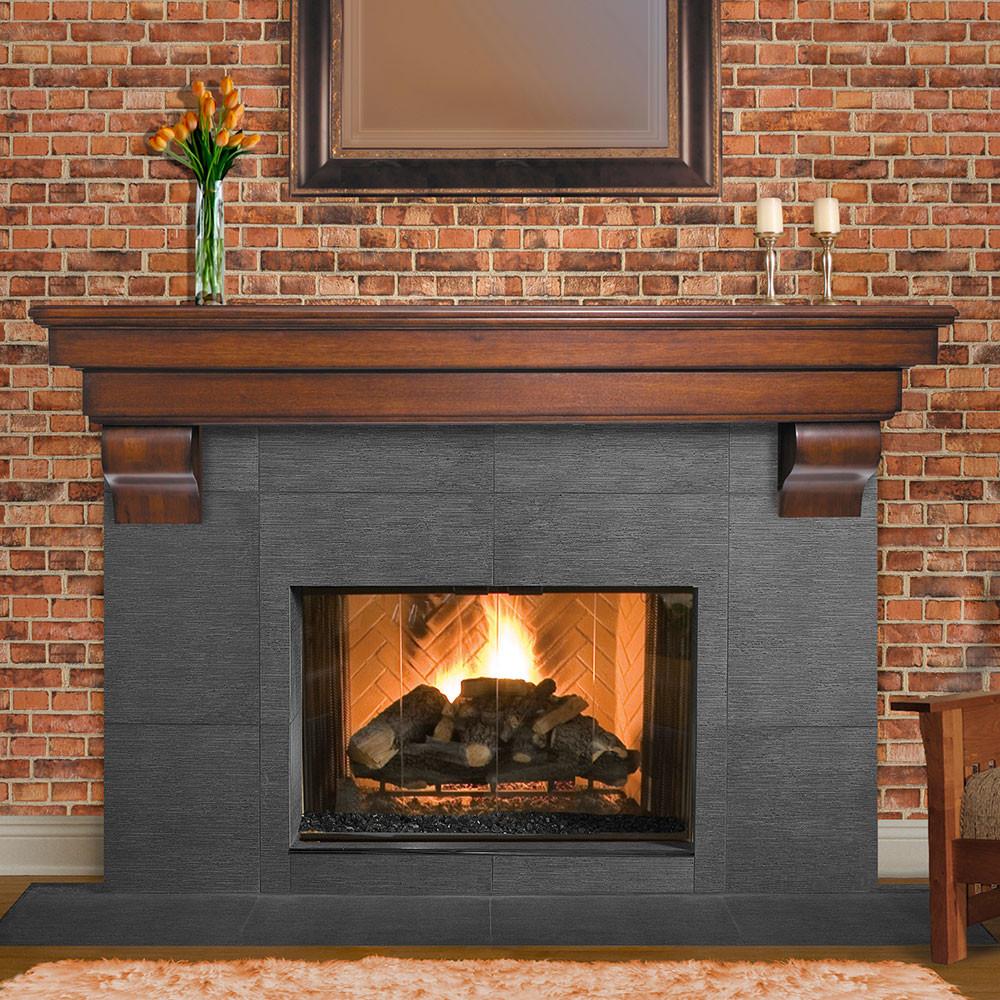 Best ideas about Fireplace Mantel Shelf . Save or Pin Excellent Fireplace Mantel Shelves — The Homy Design Now.