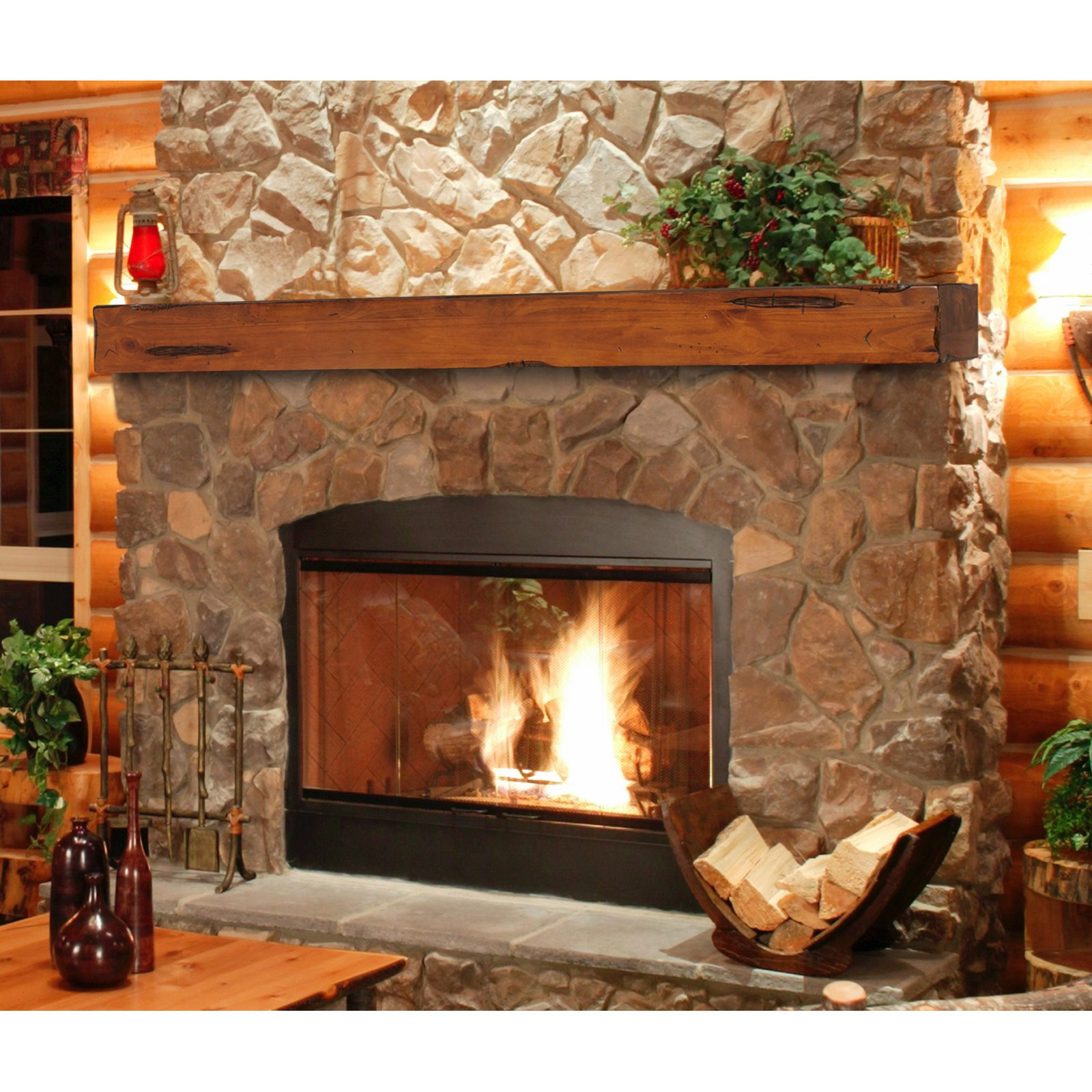 Best ideas about Fireplace Mantel Shelf . Save or Pin Pearl Mantels Shenandoah Traditional Fireplace Mantel Now.