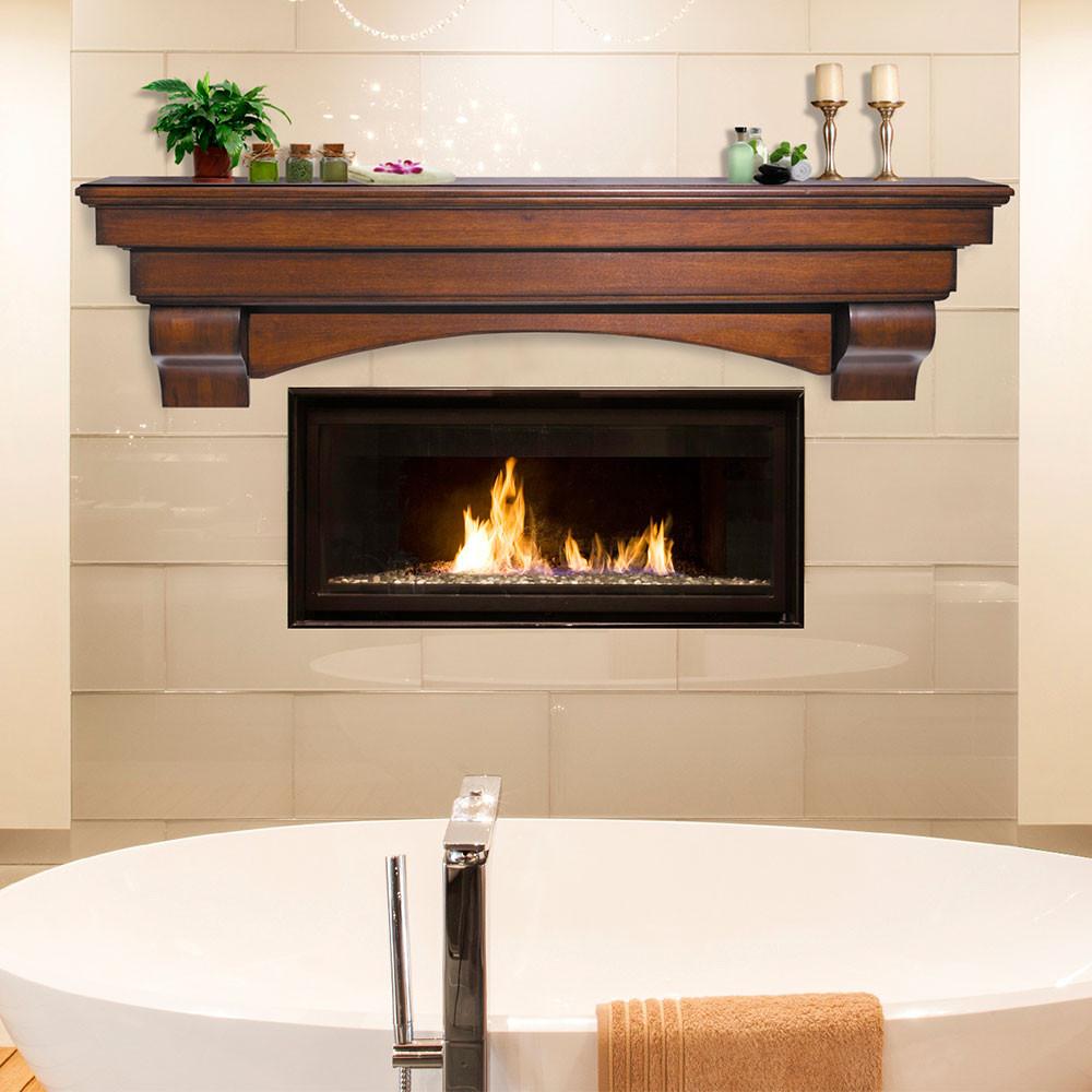 Best ideas about Fireplace Mantel Shelf . Save or Pin Salem Wood Mantel Shelves Fireplace Mantel Shelf Now.