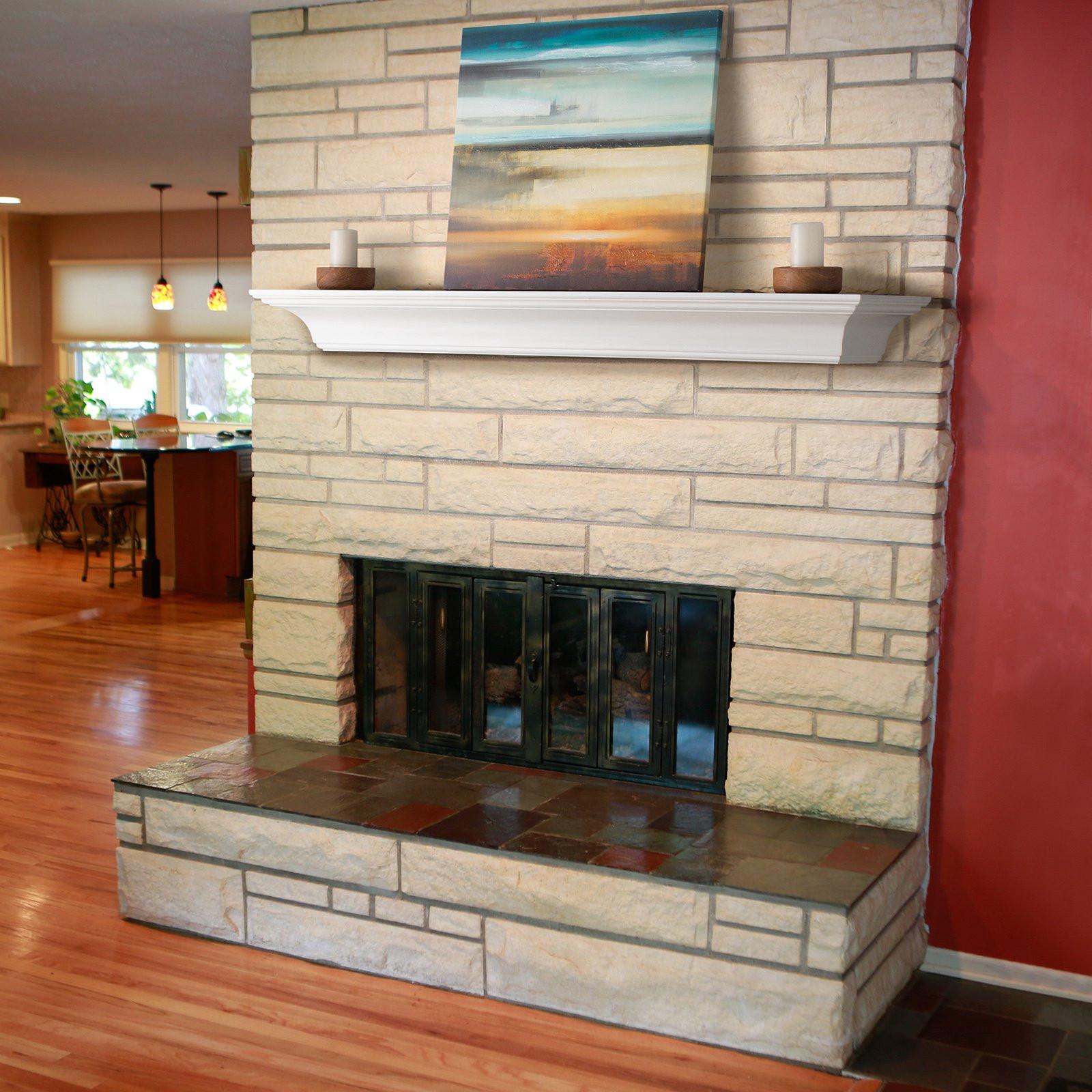 Best ideas about Fireplace Mantel Shelf . Save or Pin Belham Living Palmer Fireplace Mantel Shelf Fireplace Now.