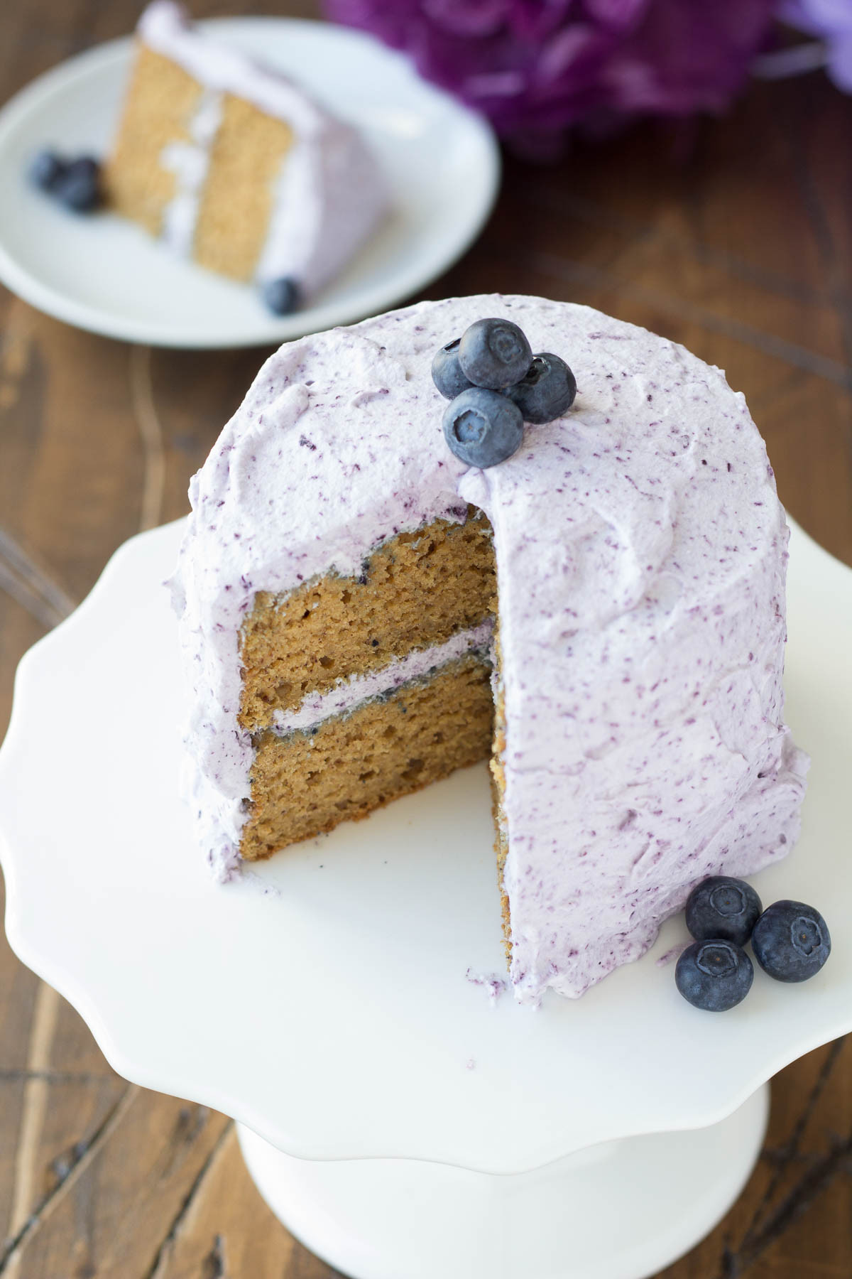 Best ideas about First Birthday Cake Recipe . Save or Pin Healthier Smash Cake Recipe Hannah s Purple Polka Dot 1st Now.