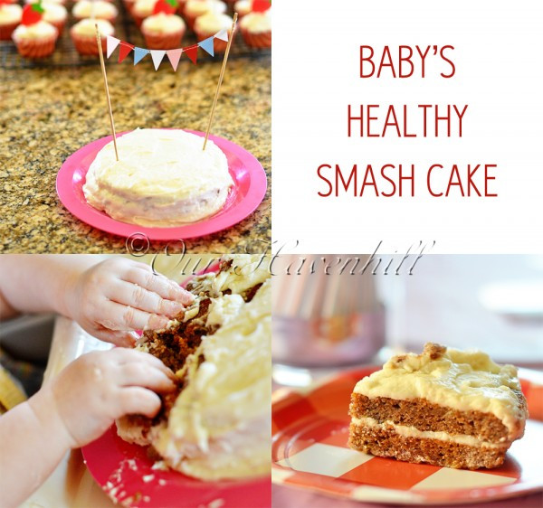 Best ideas about First Birthday Cake Recipe . Save or Pin Recipe Healthy Smash Cake for Baby's 1st Birthday – Our Now.