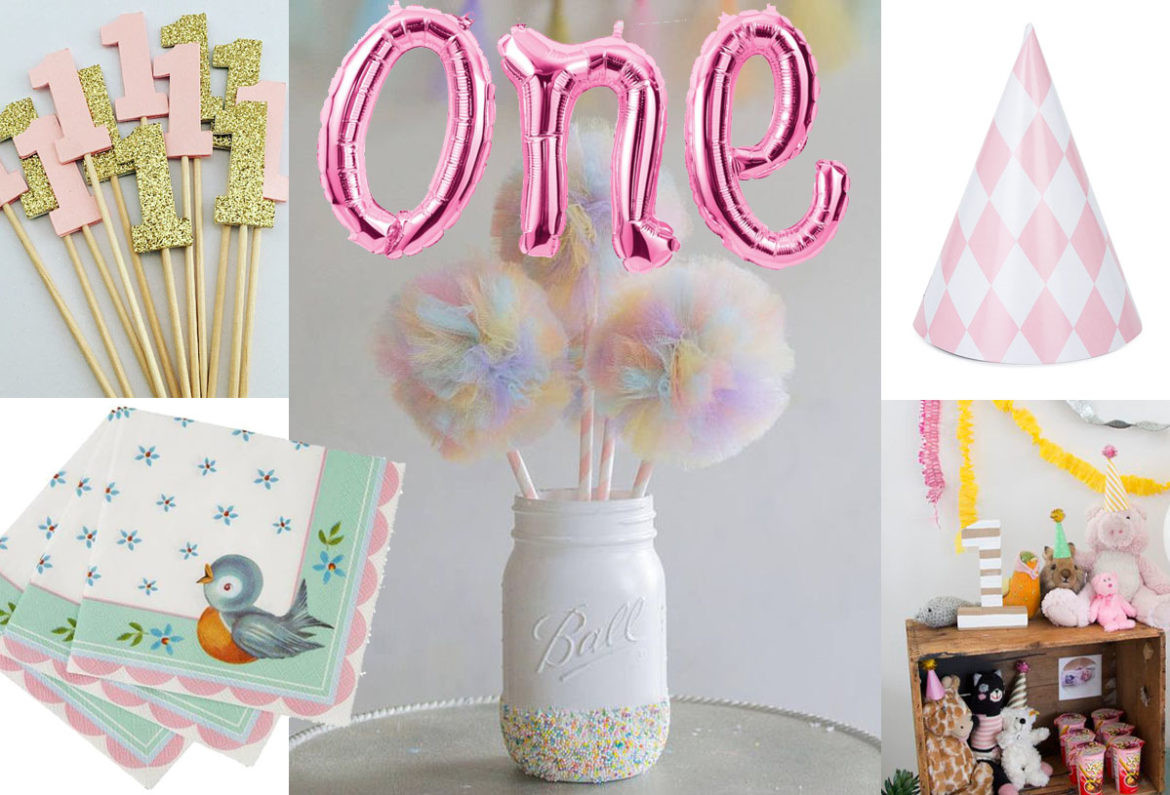 Best ideas about First Birthday Party Decorations . Save or Pin 1st Birthday Party Ideas Now.