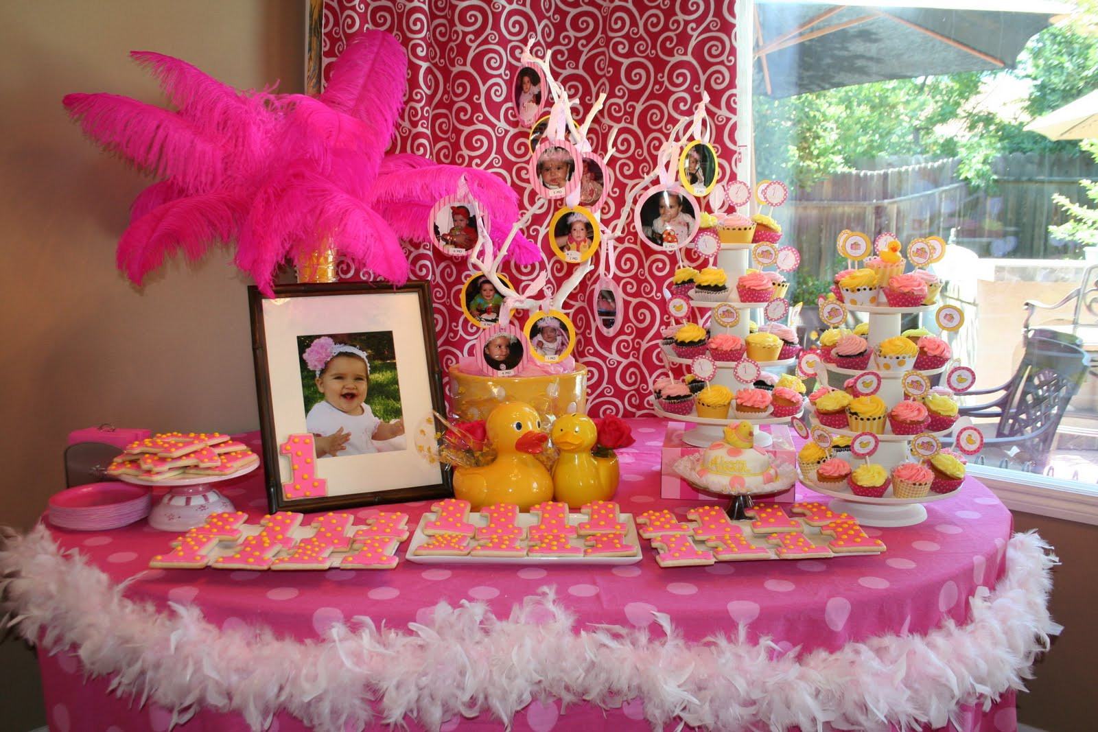 Best ideas about First Birthday Party Decorations . Save or Pin 35 Cute 1st Birthday Party Ideas For Girls Now.