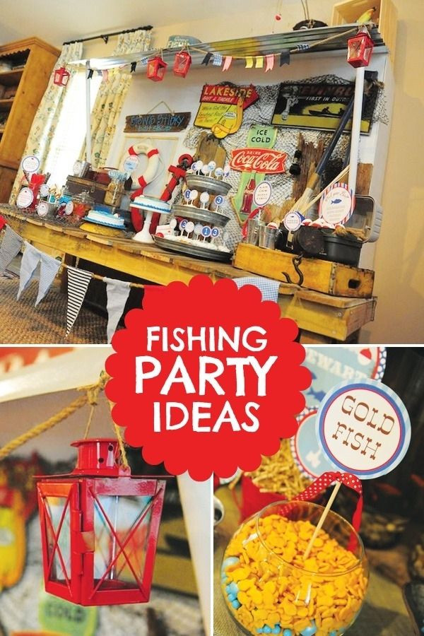 Best ideas about Fishing Birthday Decorations . Save or Pin Southern Blue Celebrations Fishing Party Ideas & Inspirations Now.