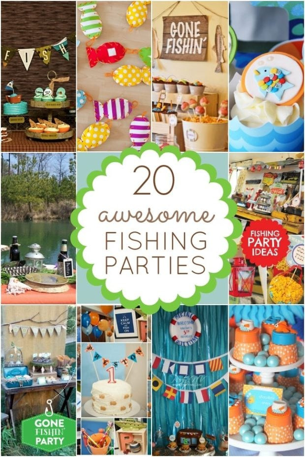 Best ideas about Fishing Birthday Decorations . Save or Pin 20 Fishing Themed Birthday Party Ideas Now.