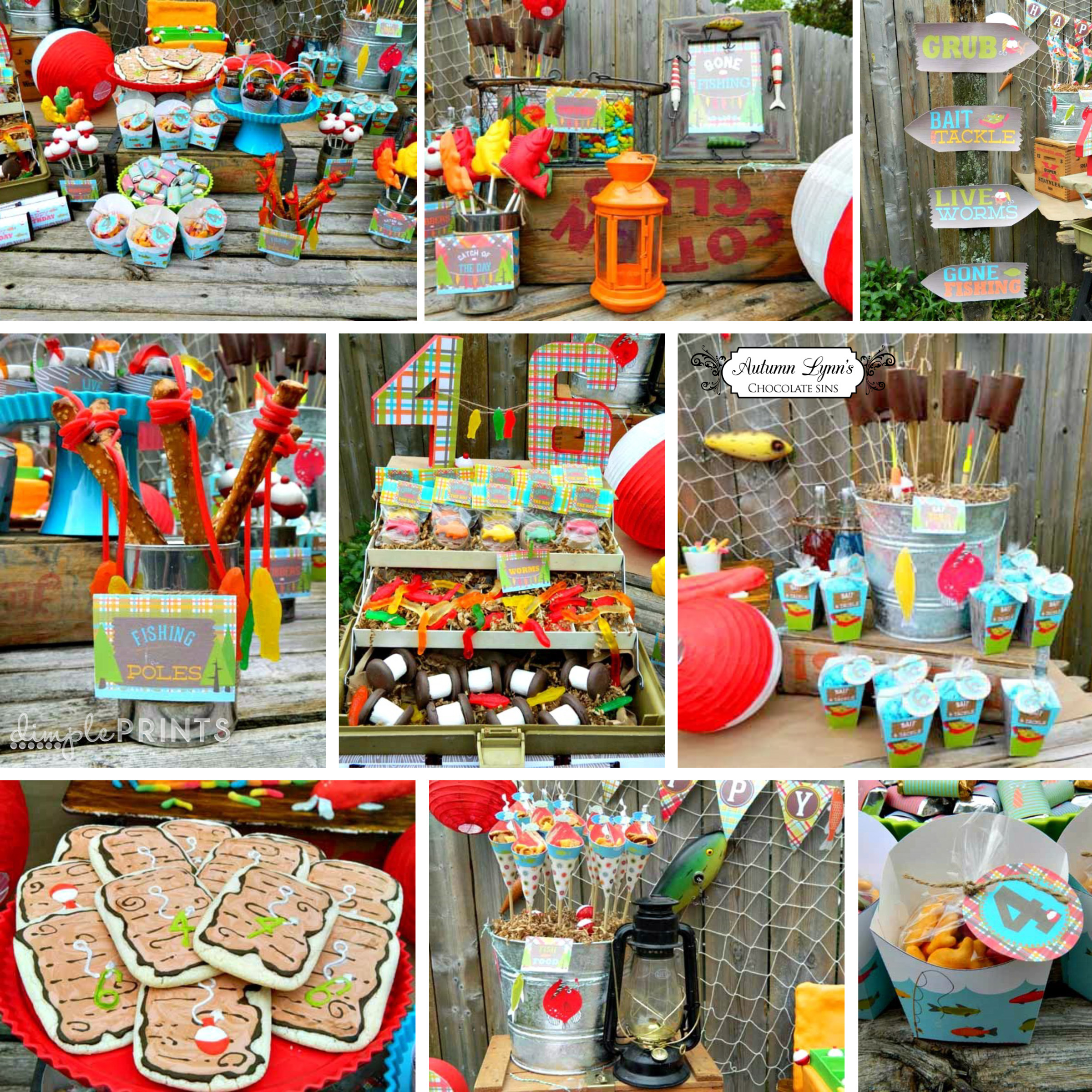 Best ideas about Fishing Birthday Decorations . Save or Pin Fishing Deluxe Printable Birthday Party Package Dimple Now.