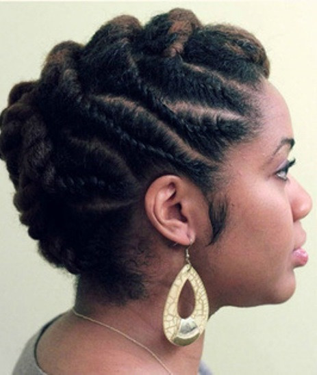 Best ideas about Flat Twist Hairstyles On Natural Hair . Save or Pin 20 Classy Updos for Natural Hair Now.