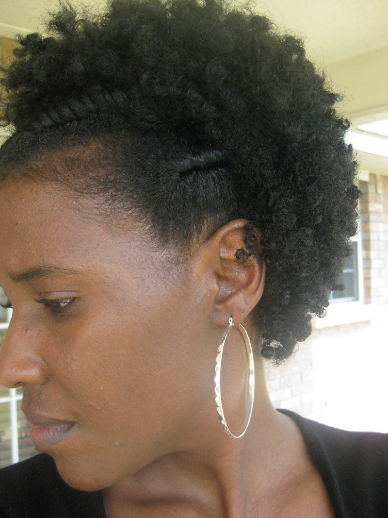 Best ideas about Flat Twist Hairstyles On Natural Hair . Save or Pin Flat Twist Curly Fro Natural Hair Style Now.