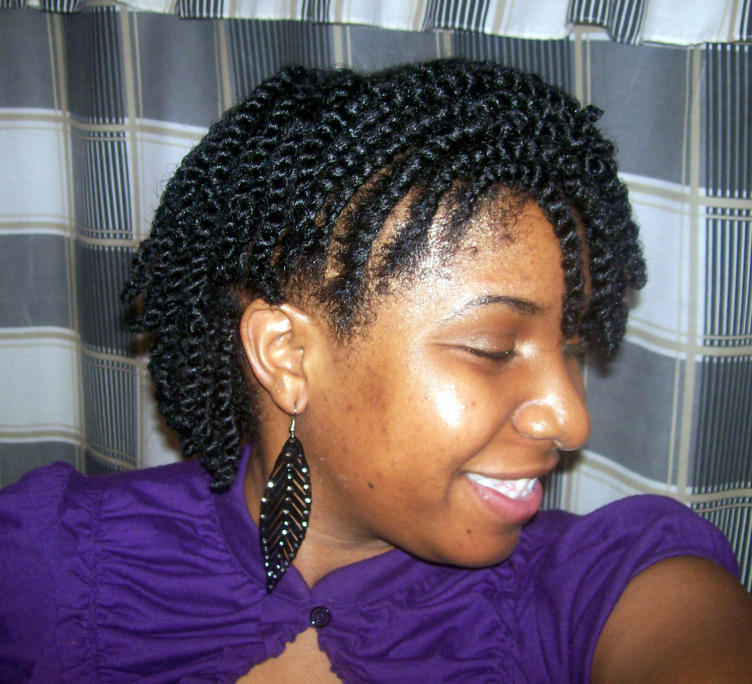 Best ideas about Flat Twist Hairstyles On Natural Hair . Save or Pin Flat Twist Updo Natural Hair Now.
