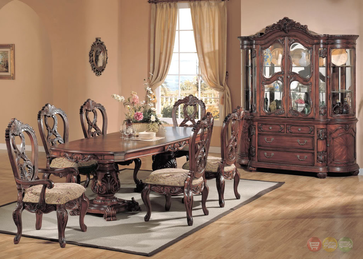Best ideas about Formal Dining Rooms Furniture . Save or Pin Elegant Formal Dining Room Furniture Set Free Shipping Now.