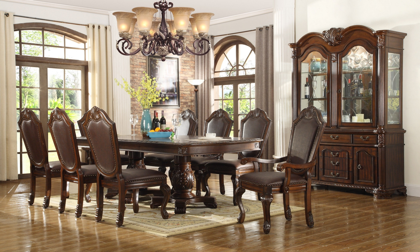 Best ideas about Formal Dining Rooms Furniture . Save or Pin Chateau Traditional Formal Dining Room Furniture Set Free Now.