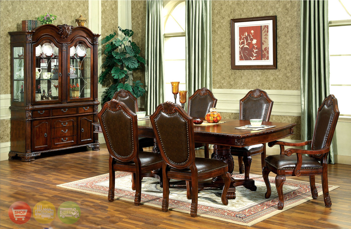 Best ideas about Formal Dining Rooms Furniture . Save or Pin Chateau Traditional Formal Dining Room Furniture Set Now.