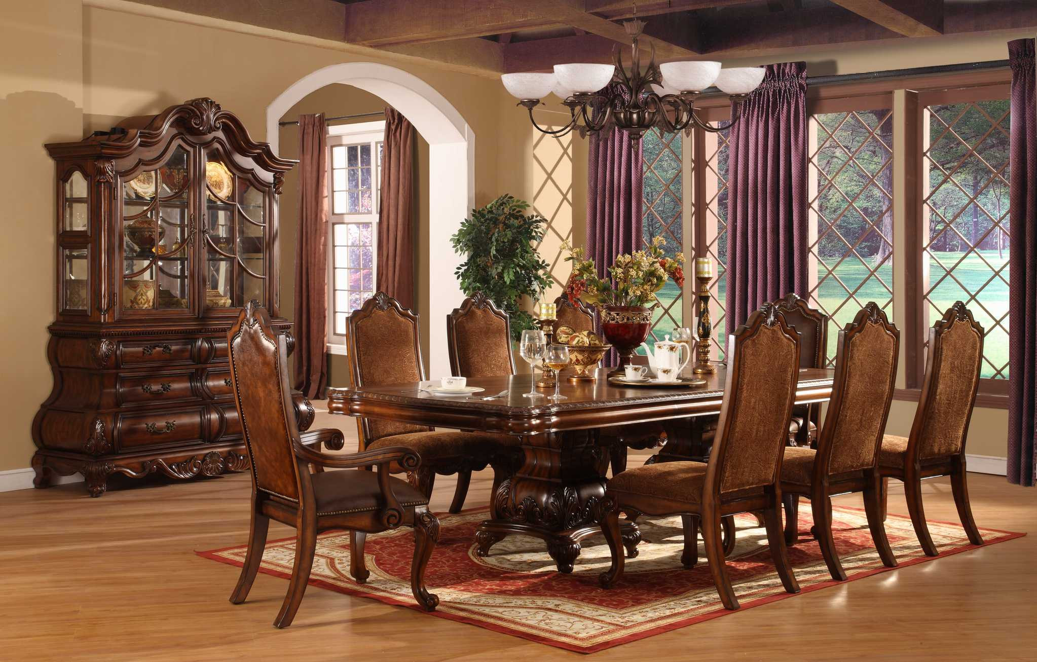 Best ideas about Formal Dining Rooms Furniture . Save or Pin Perfect Formal Dining Room Sets for 8 Now.