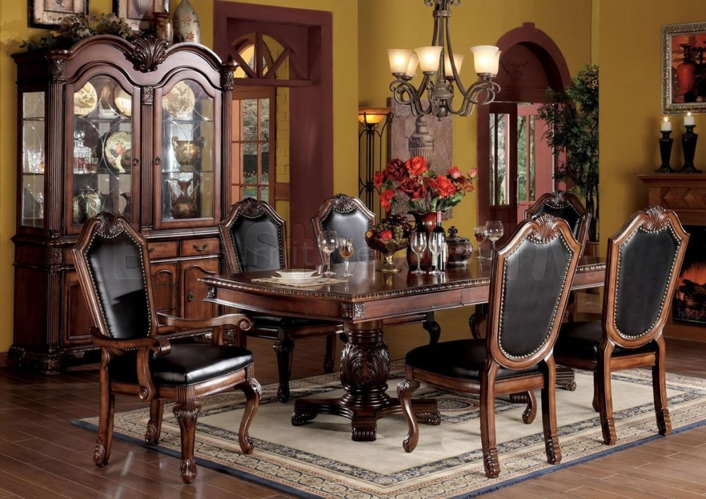 Best ideas about Formal Dining Rooms Furniture . Save or Pin Formal Dining Room Table Sets Home Furniture Design Now.