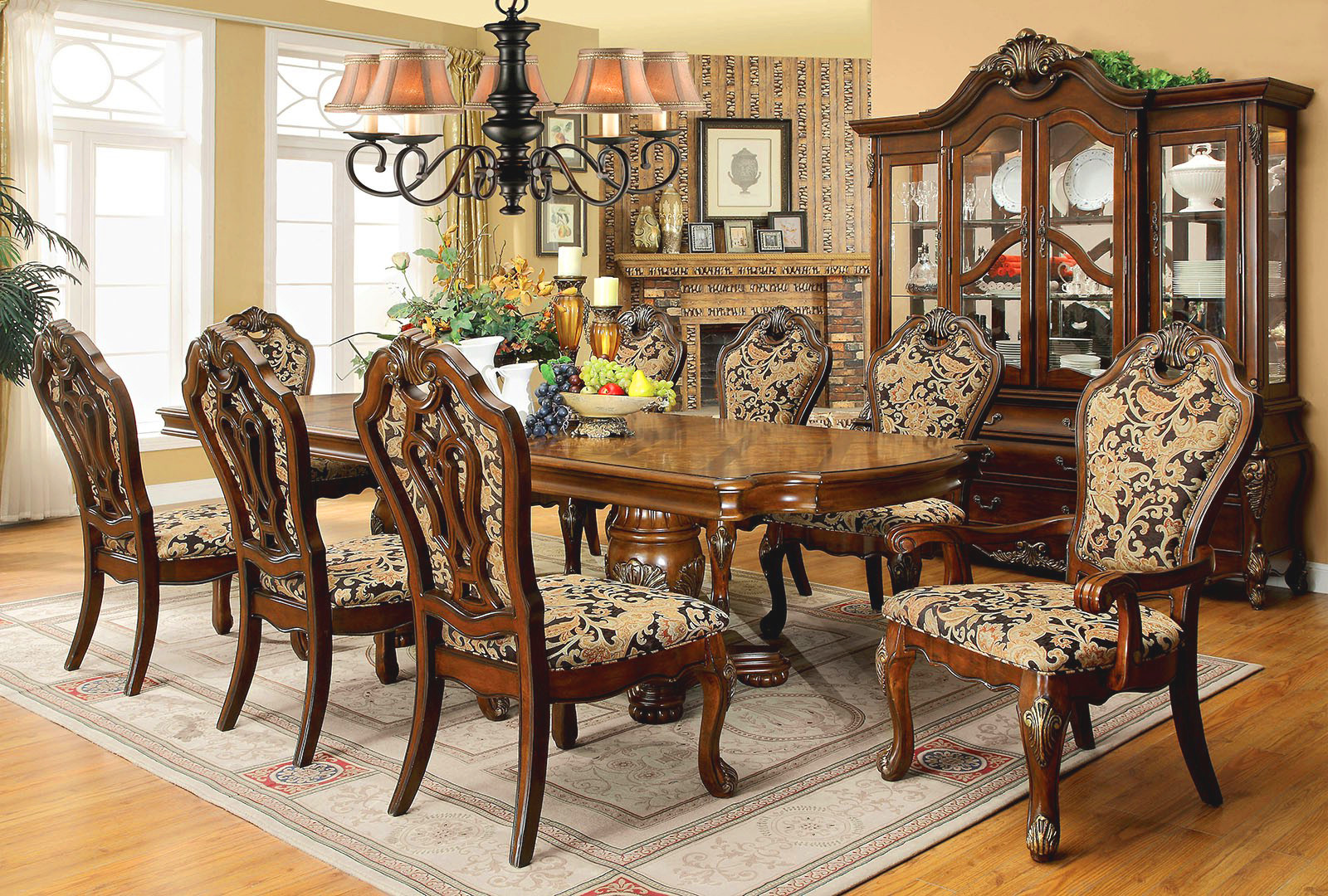 Best ideas about Formal Dining Rooms Furniture . Save or Pin Opulent Traditional Style Formal Dining Room Furniture Set Now.